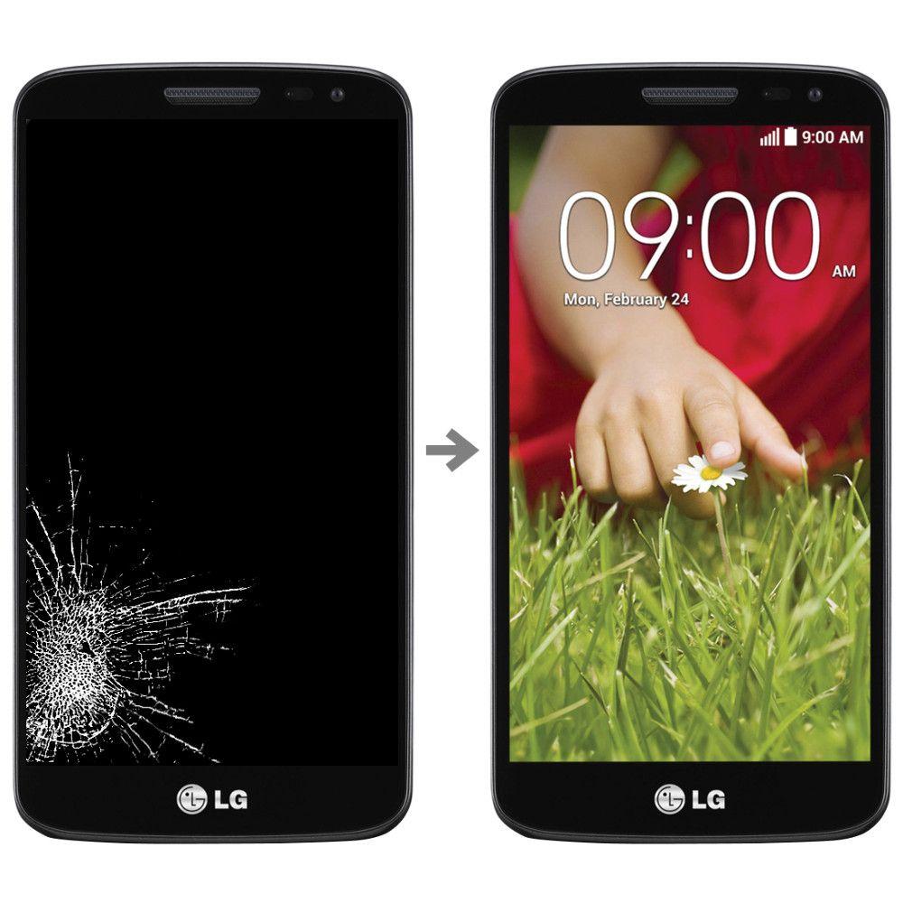 Wymiana wyświetlacza w LG G2 Mini (D620)