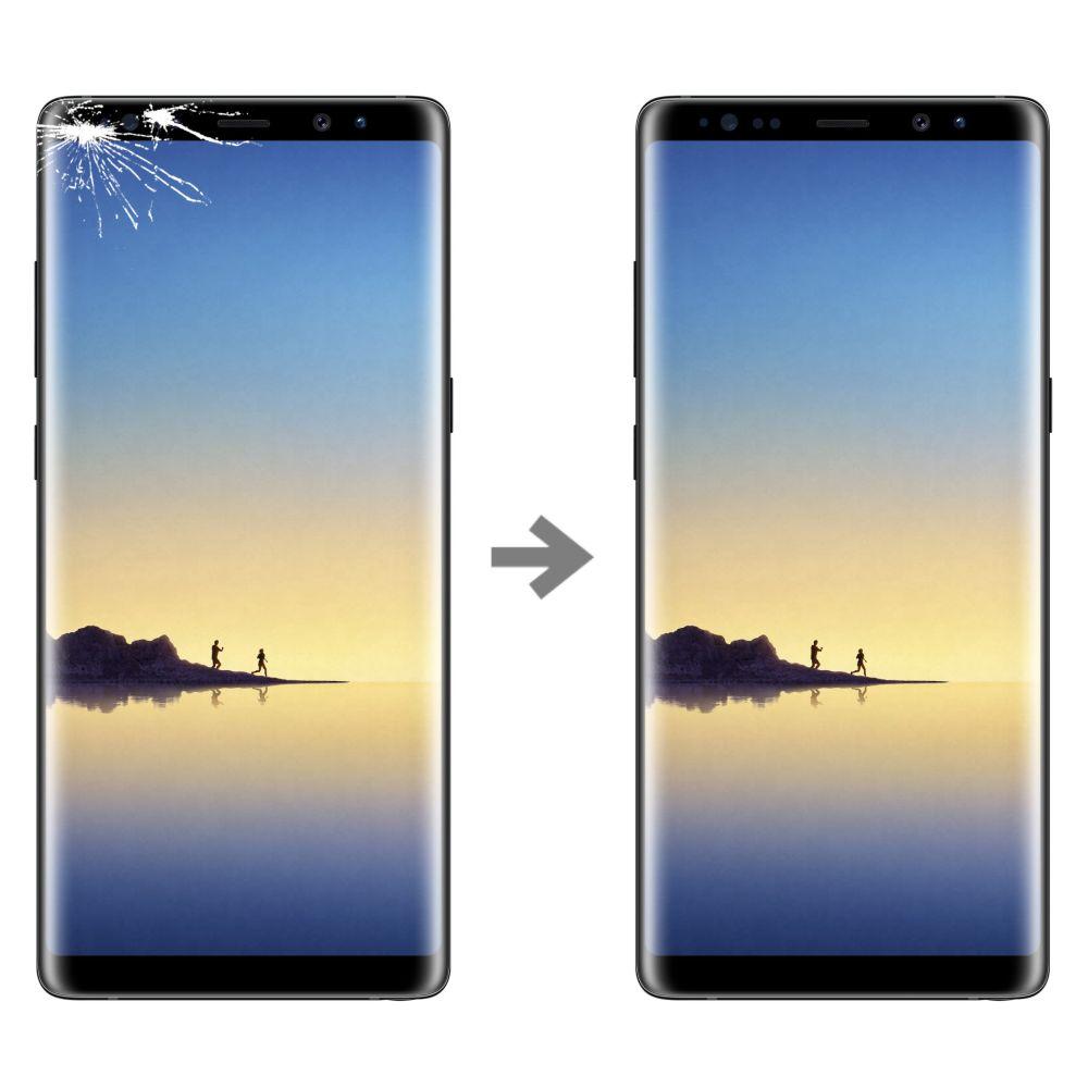 Wymiana szybki w Samsung Galaxy Note 8 (SM-N950)