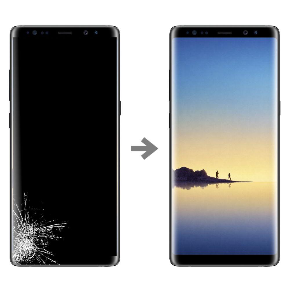 Wymiana wyświetlacza w Samsung Galaxy Note 8 (SM-N950)