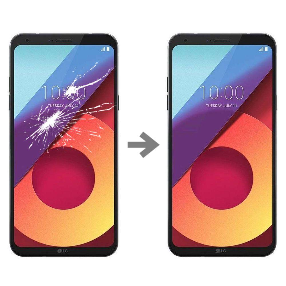 Wymiana szybki w LG Q6 (M700A)