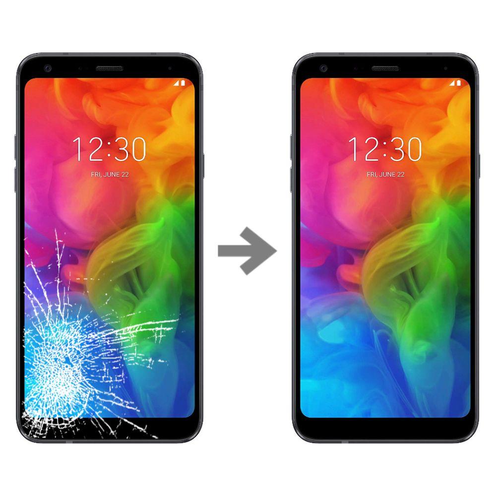 Wymiana szybki w LG Q7 (lM-Q610)