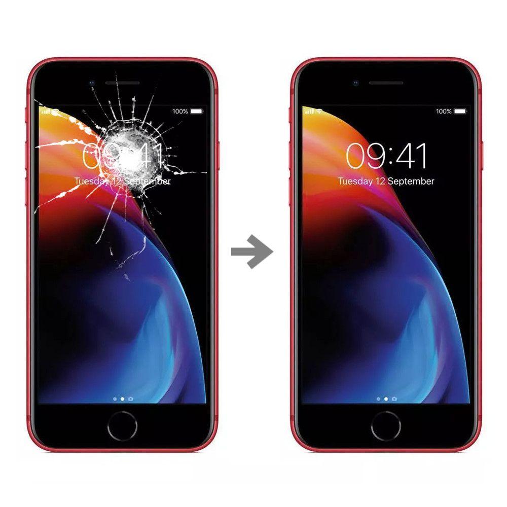 Wymiana szybki w Apple iPhone 8
