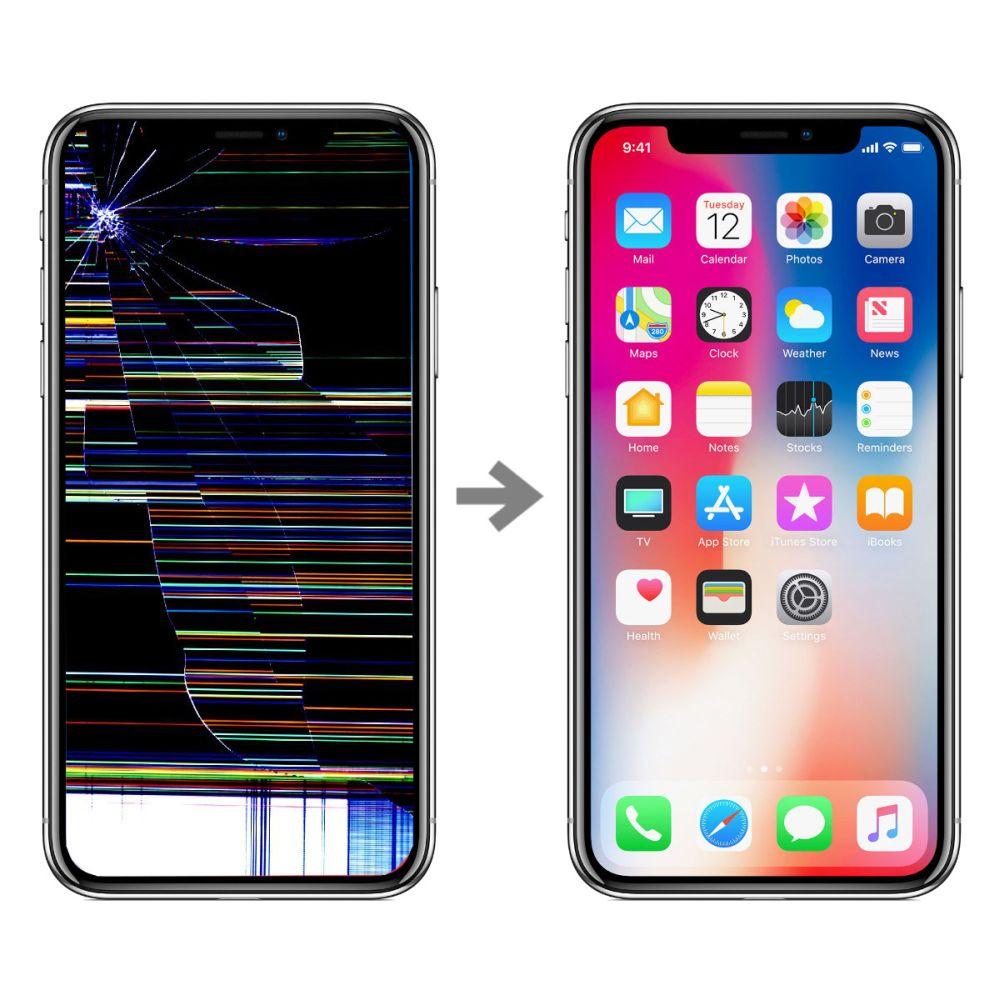 Wymiana wyświetlacza w Apple iPhone X