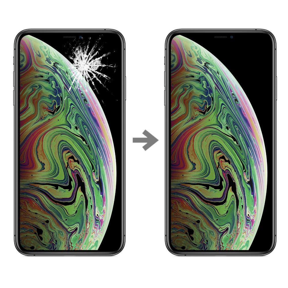 Wymiana szybki w Apple iPhone XS