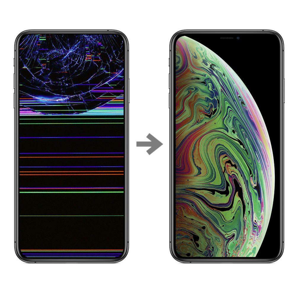 Wymiana wyświetlacza w Apple iPhone XS Max