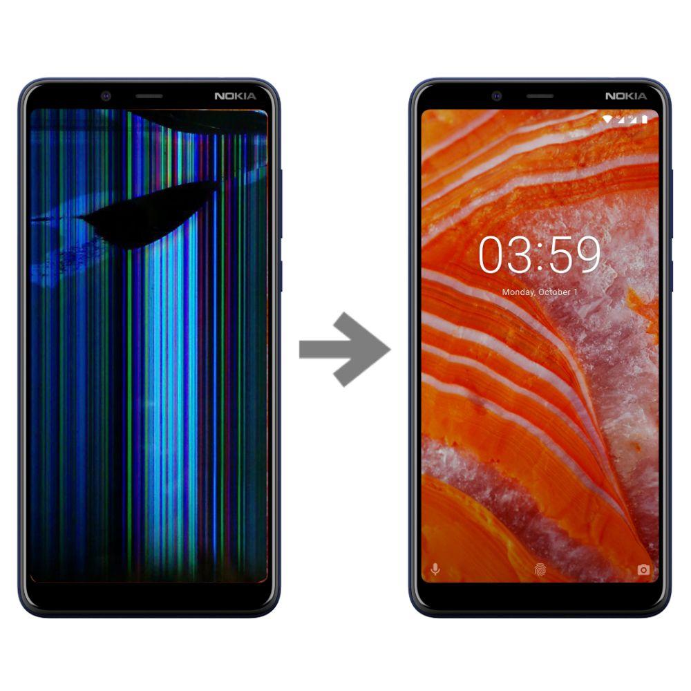 Wymiana wyświetlacza w Nokia 3.1 Poznań