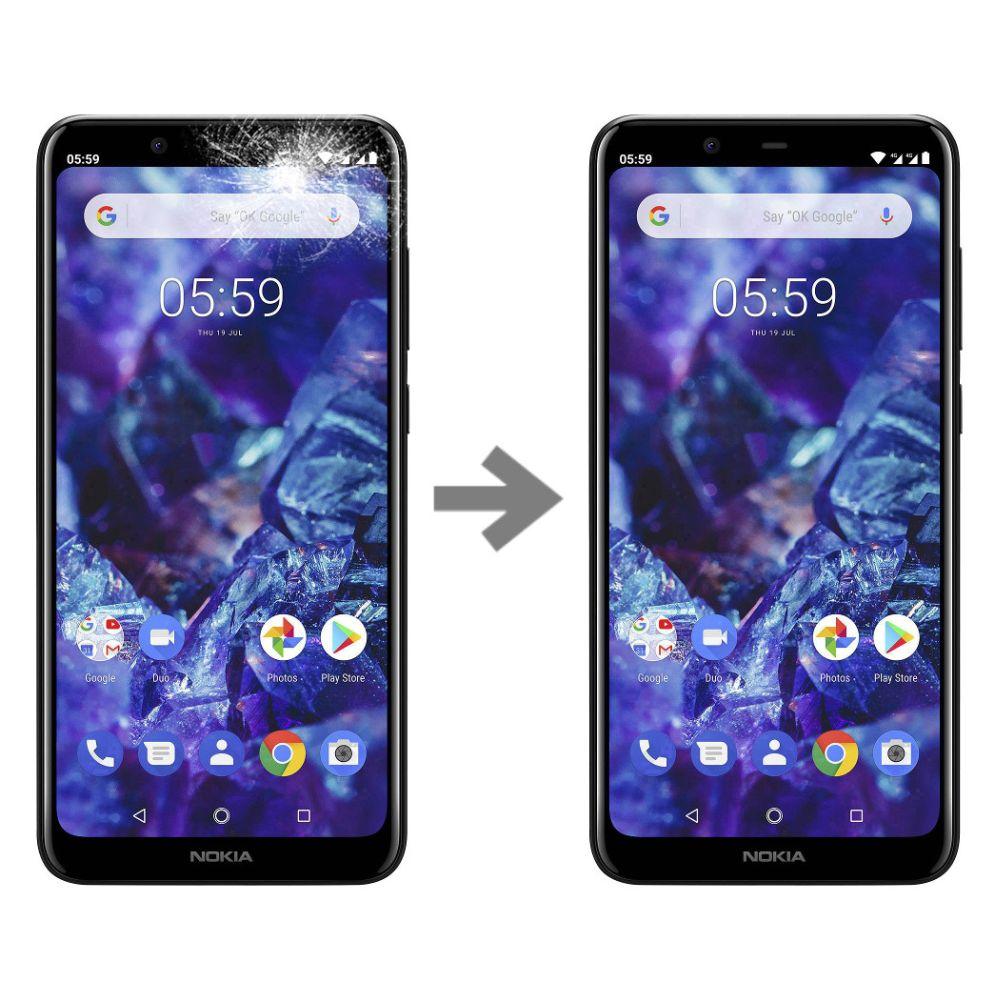 Wymiana szybki w Nokia 5.1 plus