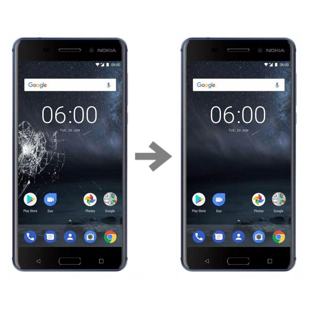 Wymiana szybki w Nokia 6