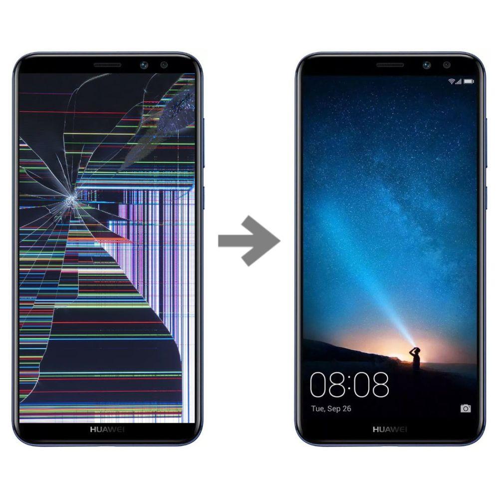Wymiana wyświetlacza w Huawei Mate 10 Lite serwis Poznań