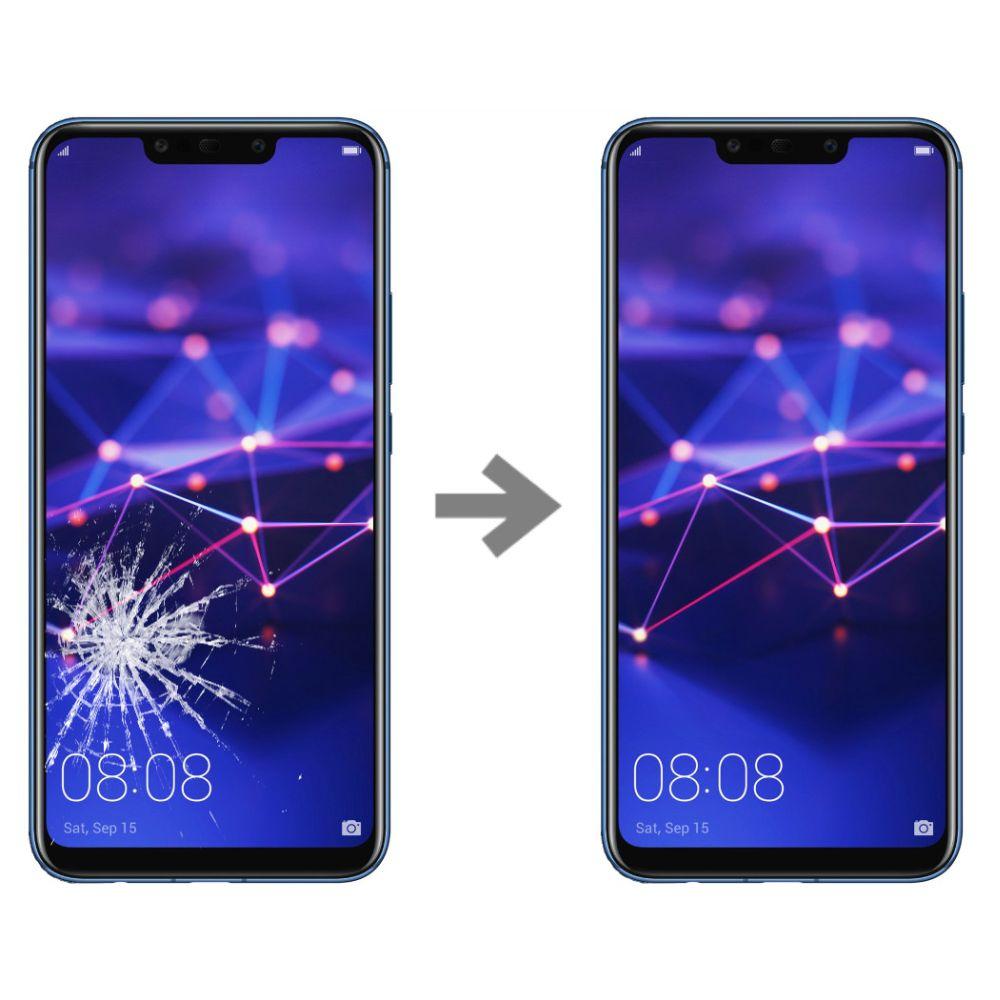Wymiana szybki w Huawei Mate 20 lite serwis Poznań