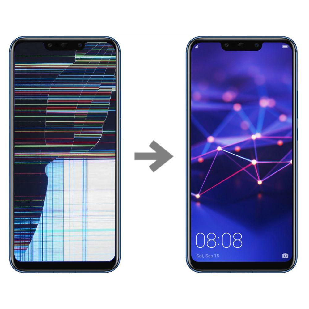 Wymiana wyświetlacza w Huawei Mate 20 Lite serwis Poznań