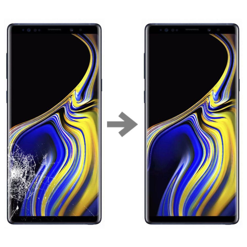 Wymiana szybki w Samsung Galaxy Note 9 serwis Poznań