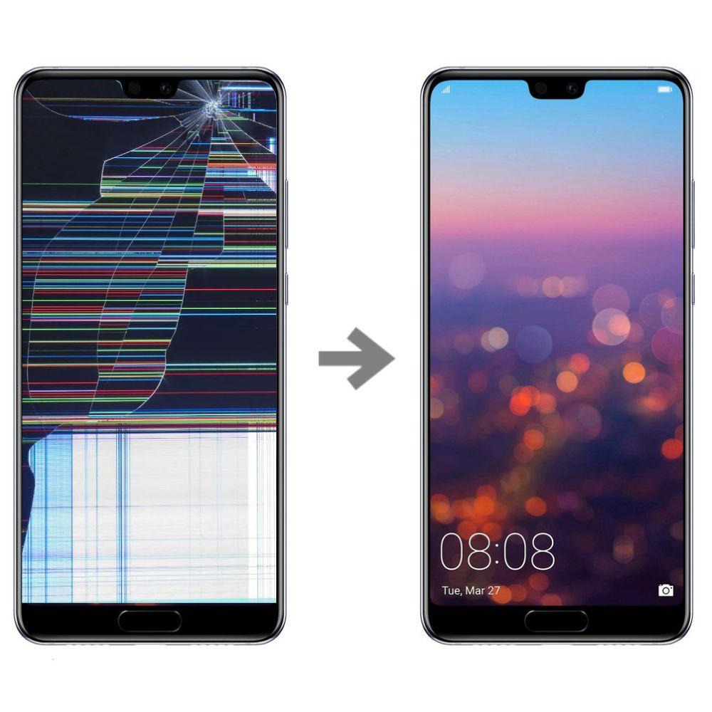 Wymiana wyświetlacza w Huawei P20 serwis Poznań