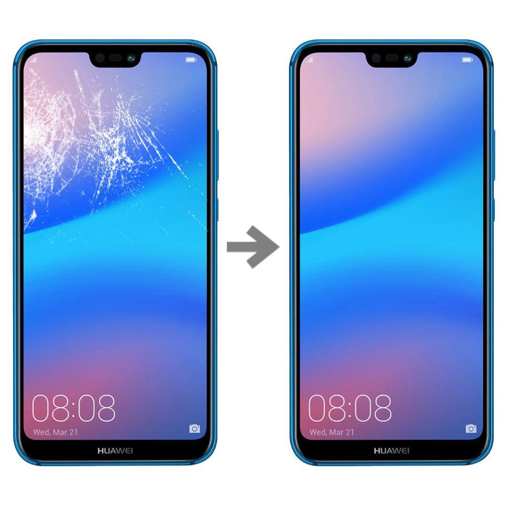 Wymiana szybki w Huawei P20 Lite serwis Poznań