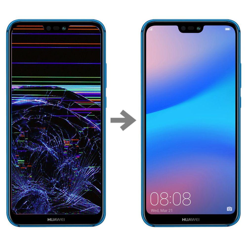 Wymiana wyświetlacza w Huawei P20 Lite serwis Poznań