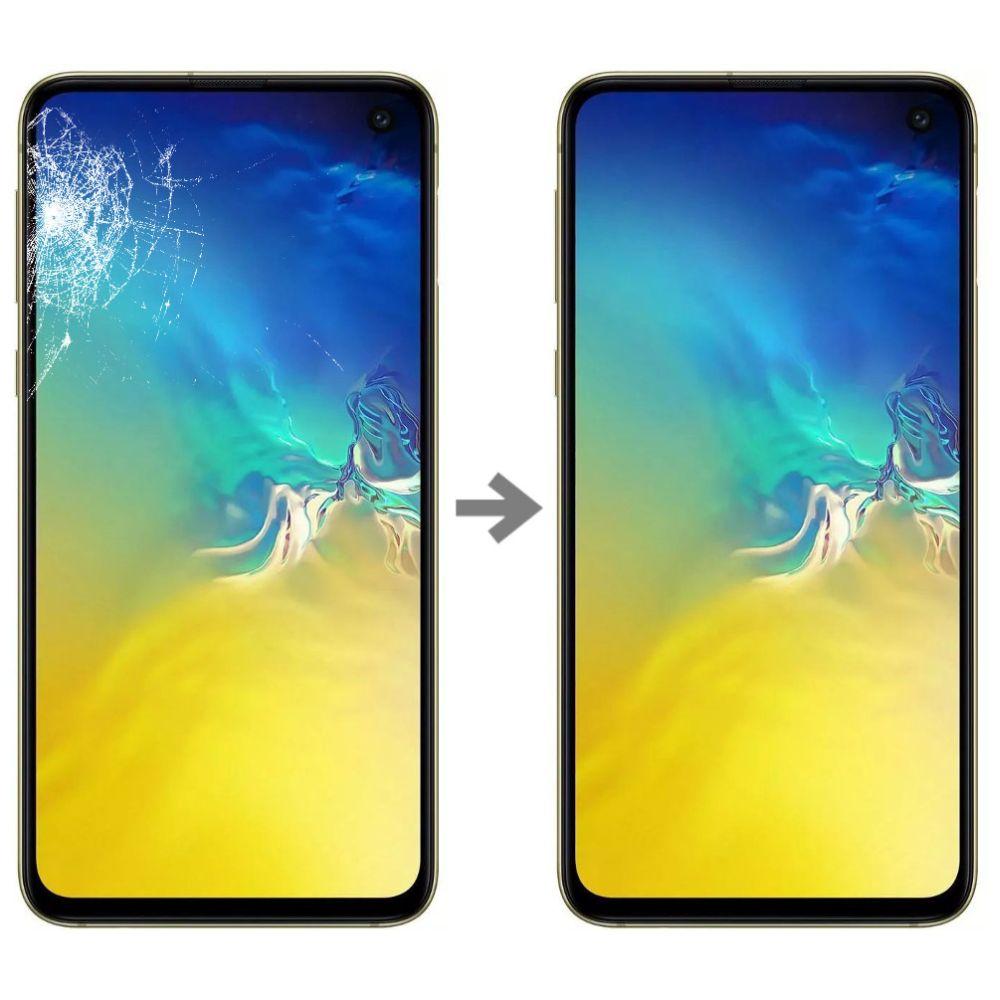 Wymiana szybki w Samsung Galaxy S10e serwis Poznań
