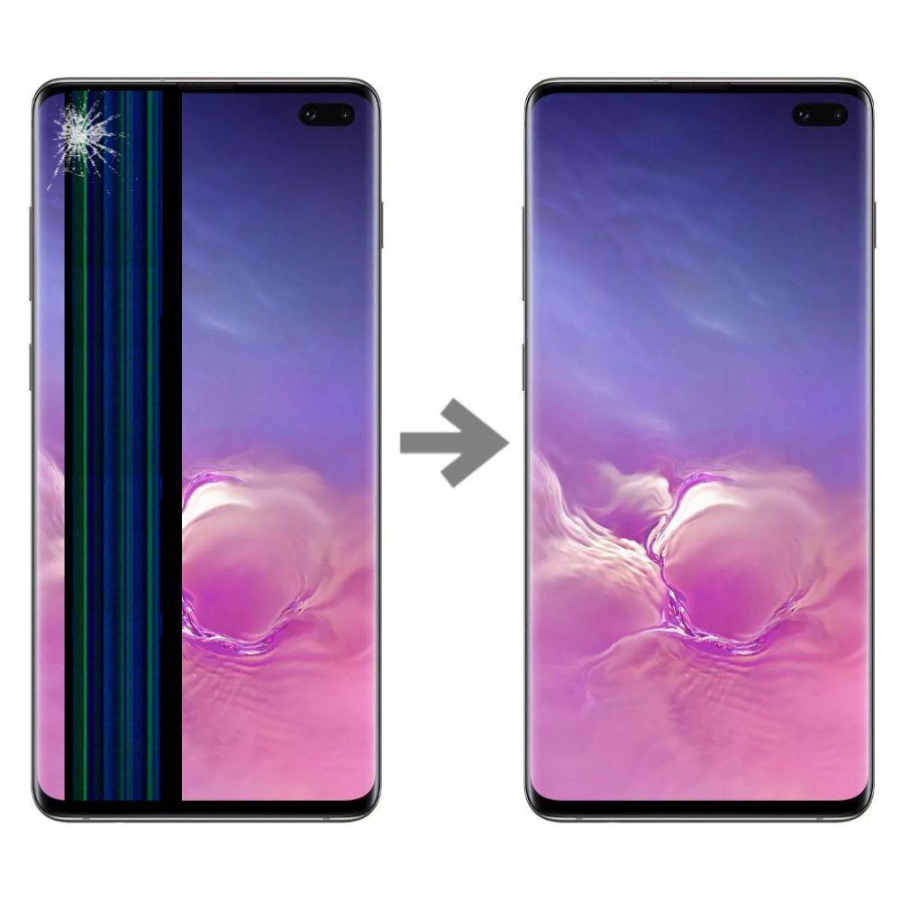 Wymiana wyświetlacza w Samsung Galaxy S10 plus serwis Poznań