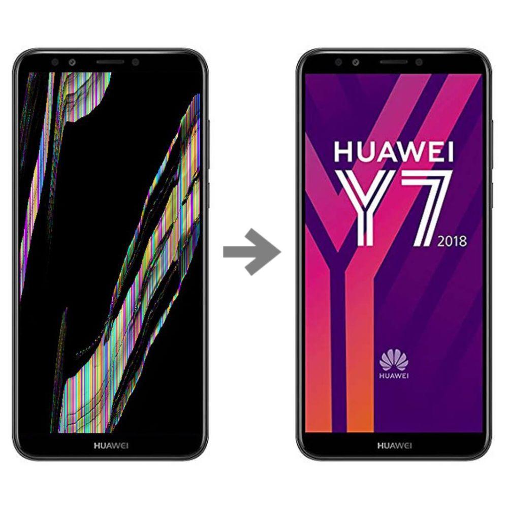 Wymiana wyświetlacza w Huawei Y7 2018 serwis Poznań