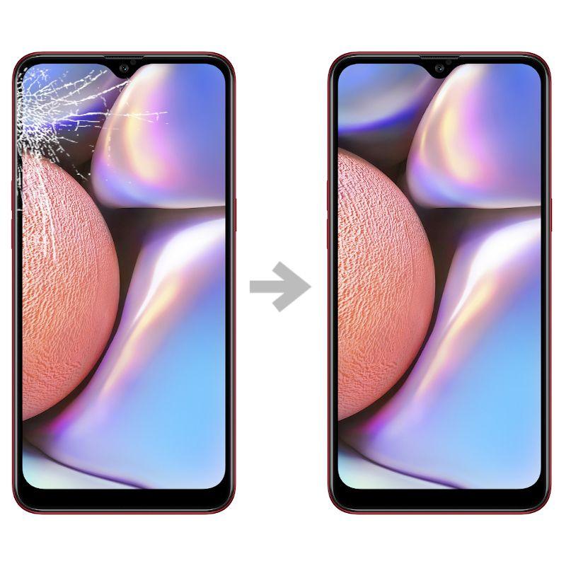 Wymiana szybki w Samsung Galaxy A10s (SM-A107)