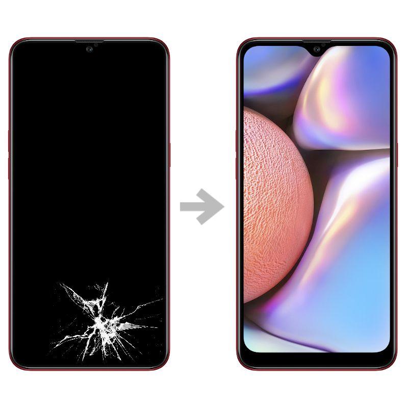 Wymiana wyświetlacza w Samsung Galaxy A10s (SM-A107)
