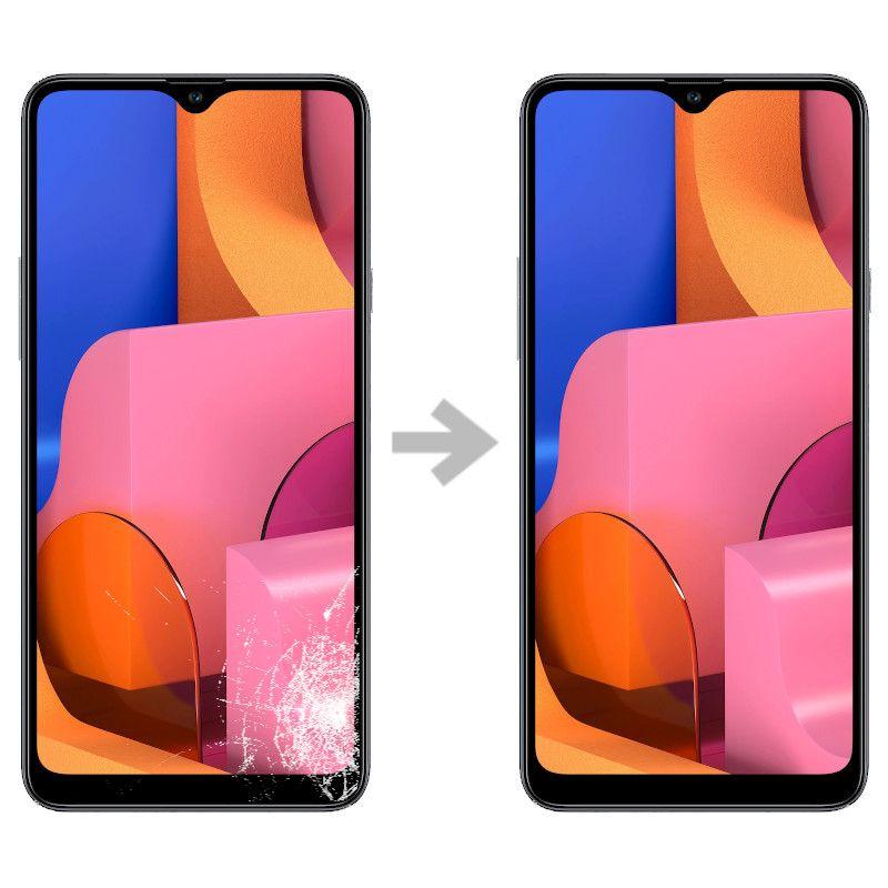 Wymiana szybki w Samsung Galaxy A20s (SM-A207)