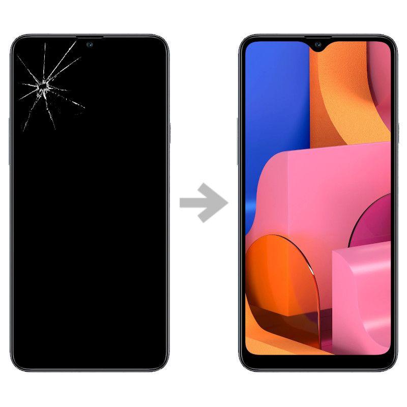 Wymiana wyświetlacza w Samsung Galaxy A20s (SM-A207)