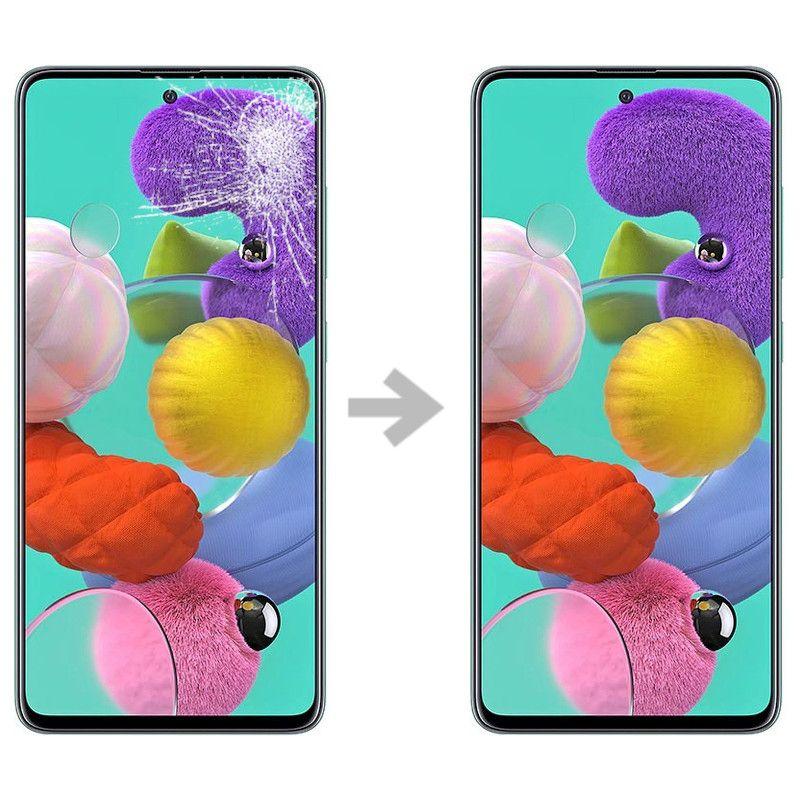 Wymiana szybki w Samsung Galaxy A51 (SM-A515)