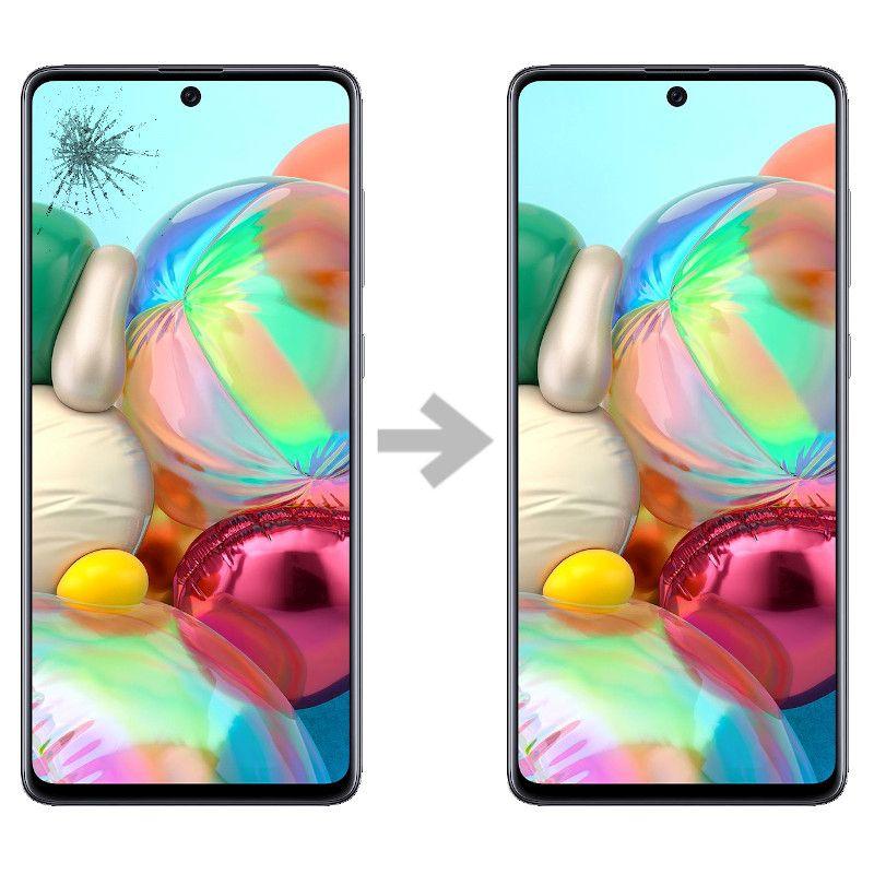 Wymiana szybki w Samsung Galaxy A71 (SM-A715)