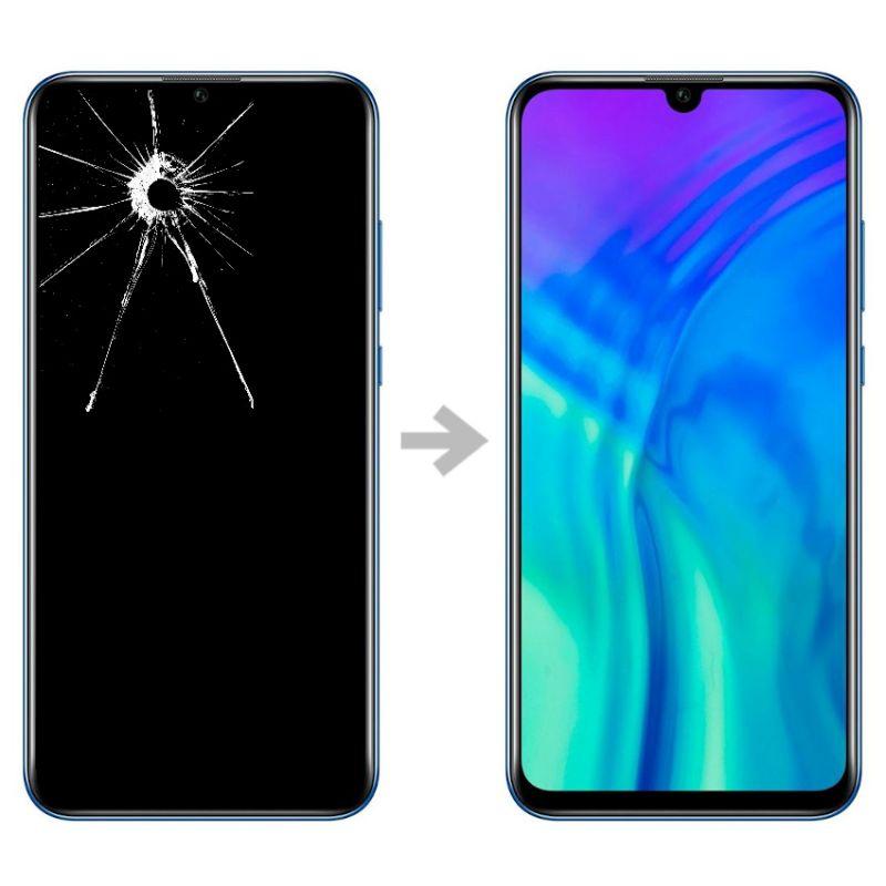 Wymiana wyświetlacza w Huawei Honor 20 lite