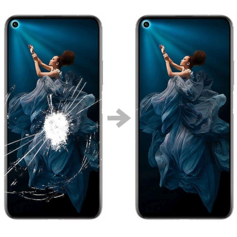 Wymiana szybki w Huawei Honor 20 pro