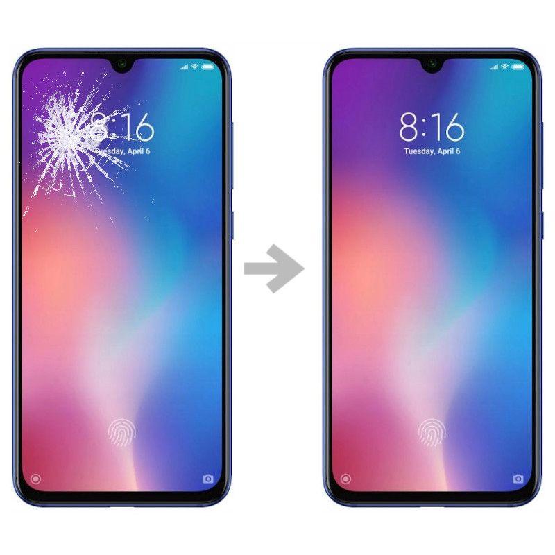 Wymiana szybki w Xiaomi Mi 9