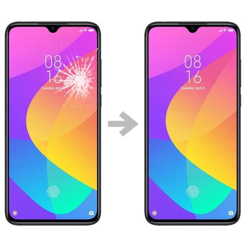 Wymiana szybki w Xiaomi Mi 9 lite