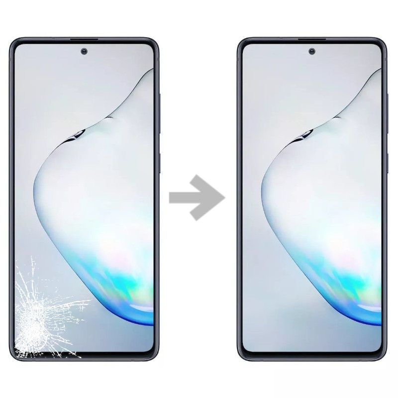 Wymiana szybki w Samsung Galaxy Note 10 Lite (N770)