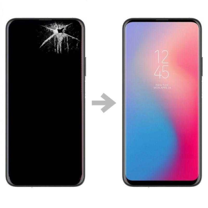 Wymiana wyświetlacza w Huawei P Smart Pro
