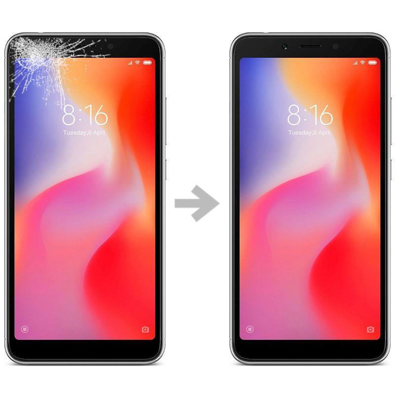 Wymiana szybki w Xiaomi Redmi 6