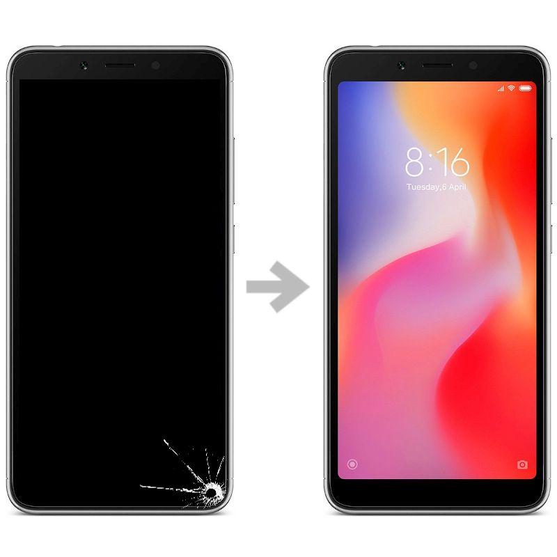 Wymiana wyświetlacza w Xiaomi Redmi 6
