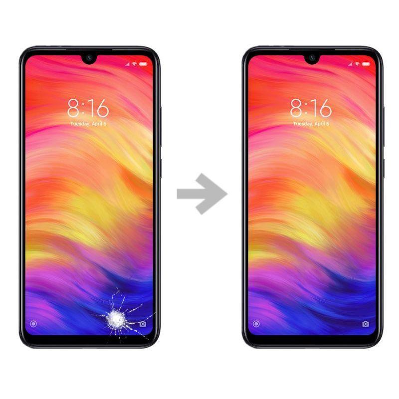 Wymiana szybki w Xiaomi Redmi 7