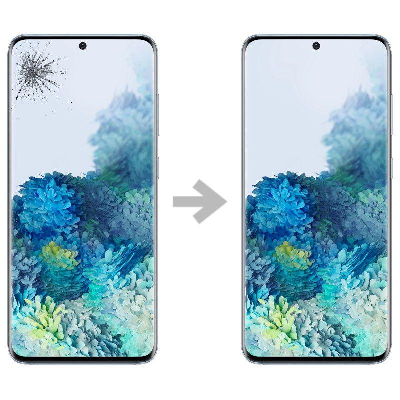 Wymiana szybki w Samsung Galaxy S20 (SM-G980)
