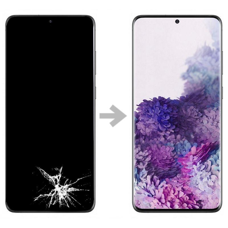Wymiana wyświetlacza w Samsung Galaxy S20+ plus (SM-G985)