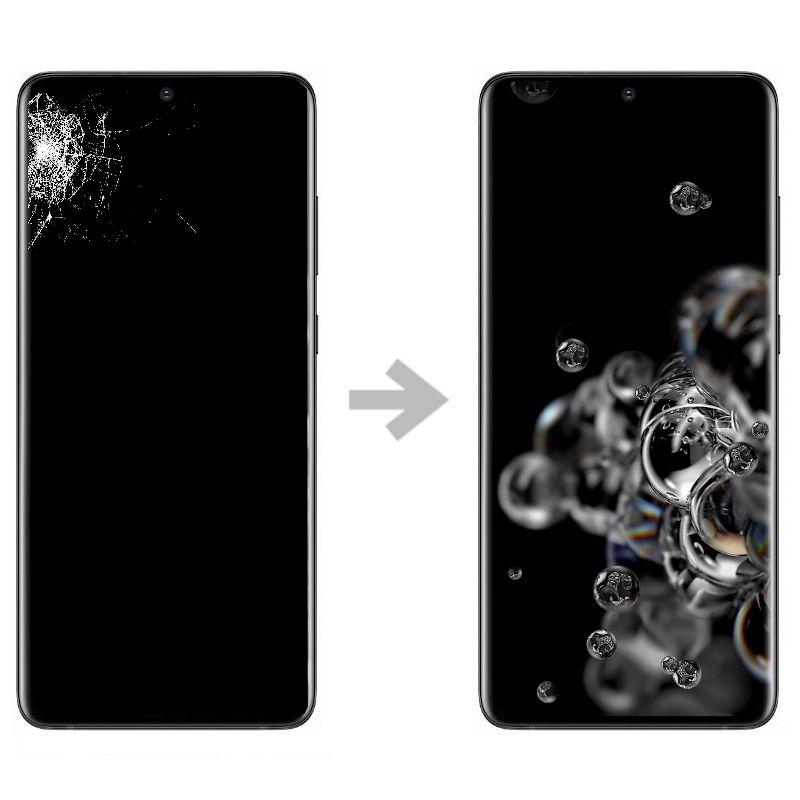 Wymiana wyświetlacza w Samsung Galaxy S20 ultra (SM-G988)